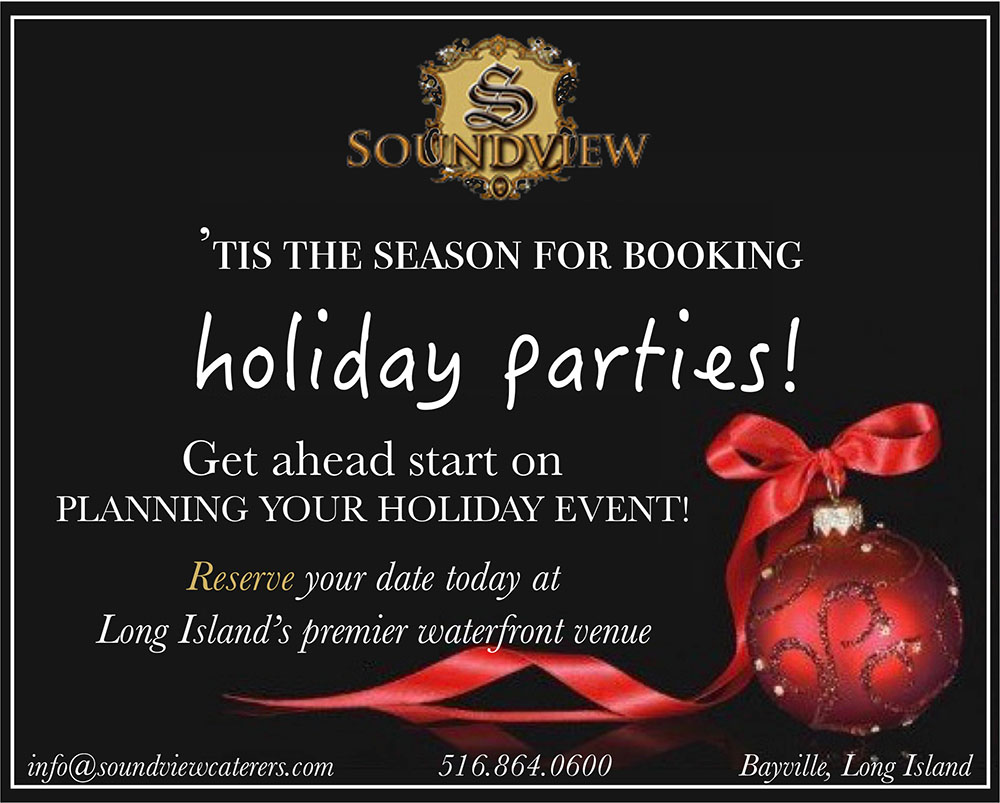 Soundview Caterers Holiday Parties 2019
